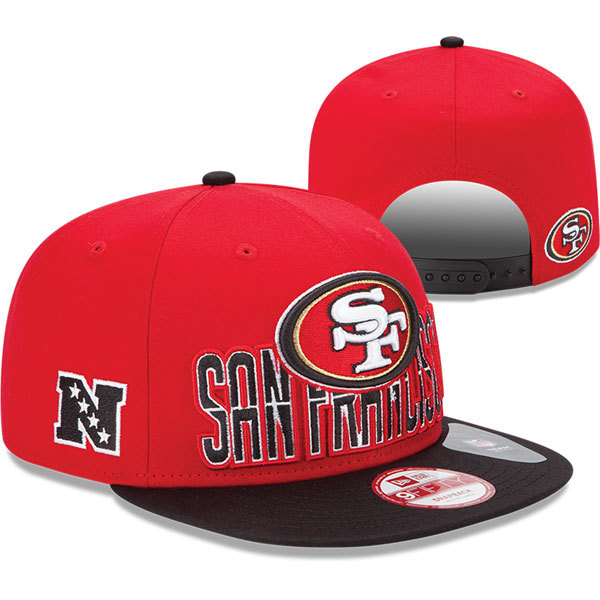 San Francisco 49ers NFL Snapback Hat SD19